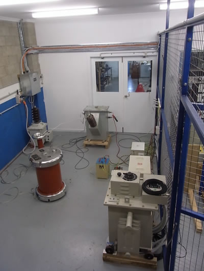 VT and HV test cell